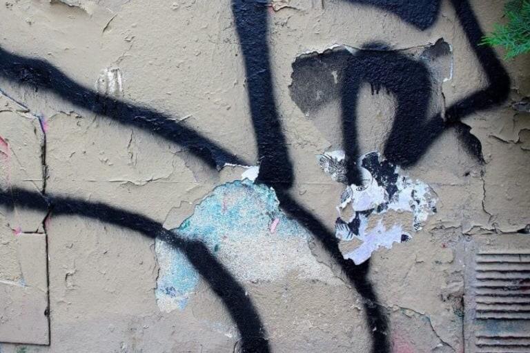 バンクシーの壁画が描かれていた壁 - Ledru-Rollin