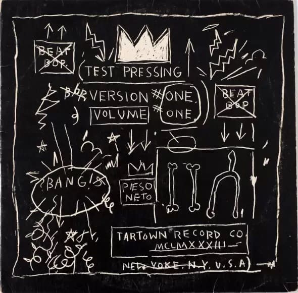 "Jean-Michel Basquiat ""Beat Bop"" 1983"