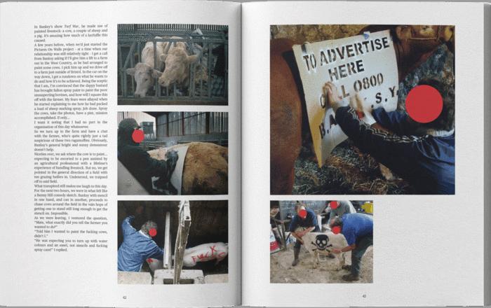 シティーブ・ラザリディスによるバンクシーの写真集「 Banksy Captured  by STEVE LAZARIDES」