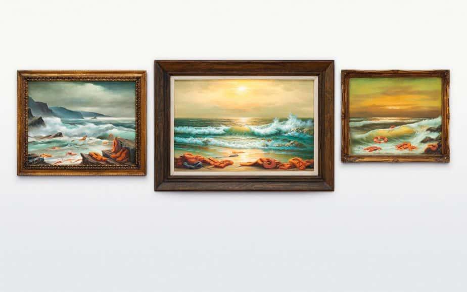 「ロマン派時代の絵画」を彷彿とさせる波乱に満ちた海辺の風景